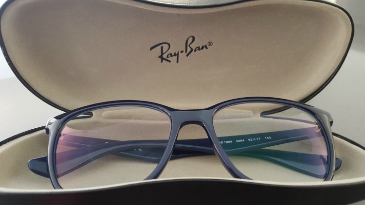 Ray Ban RX RB 7066 5584 Blue